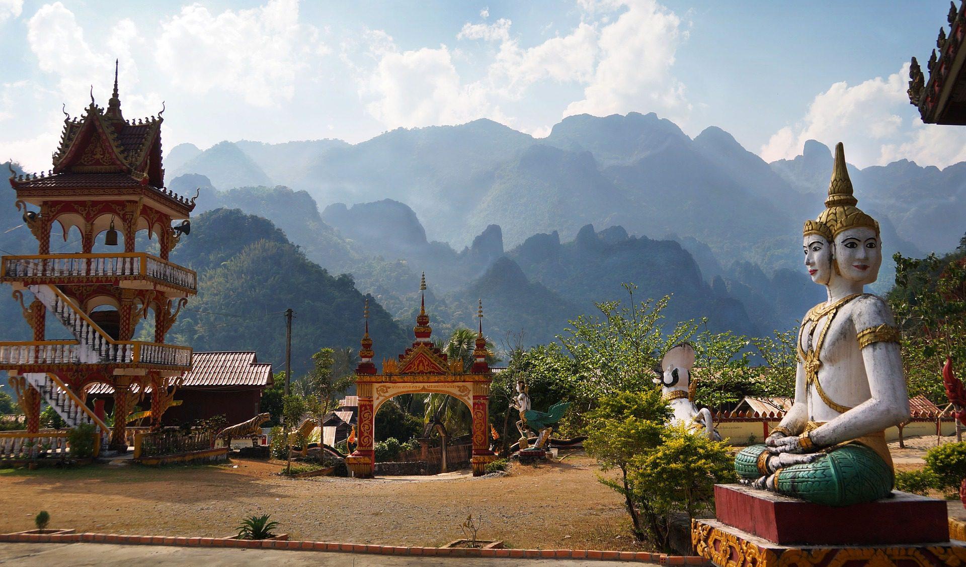 Einzigartige Bauwerke in Laos