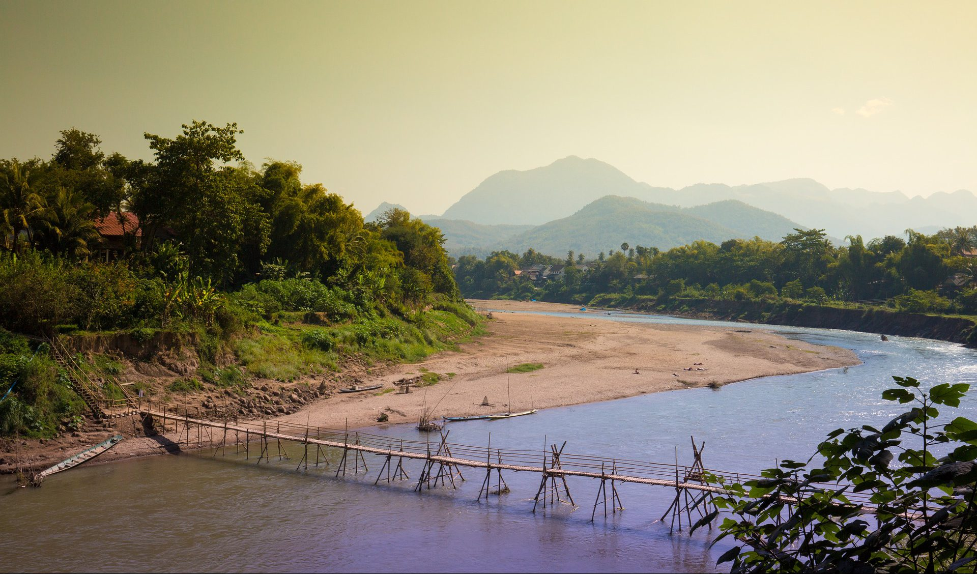 Der Mekong in Luang Prabang