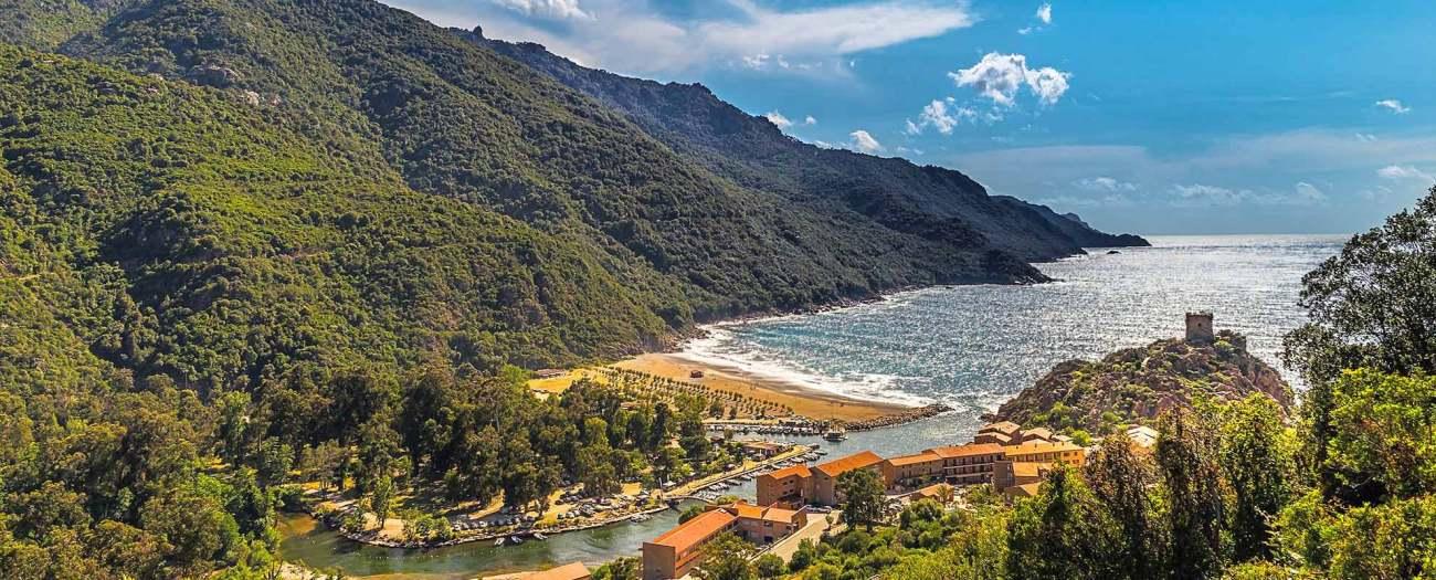 Sardiniens grüne Küste