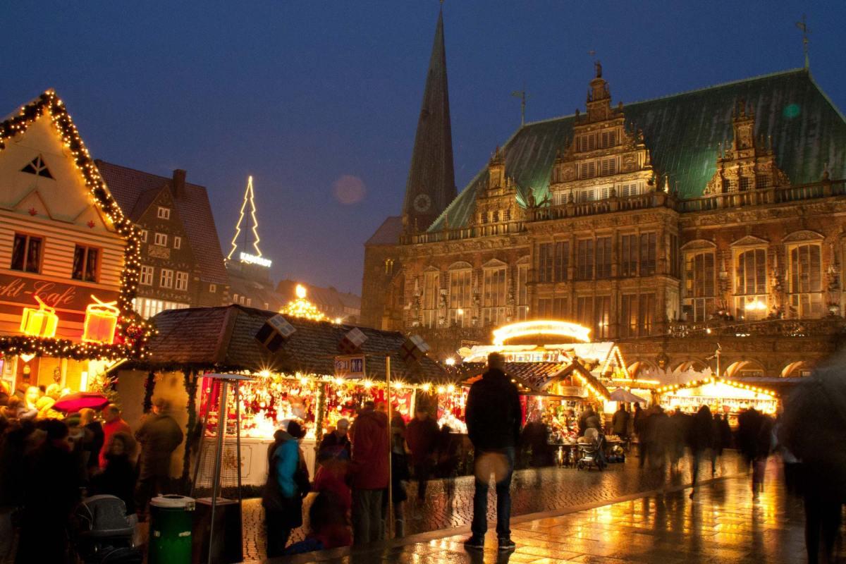 Weihnachtsmarkt Bremen Marktplatz