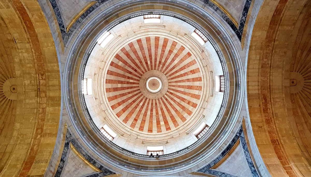 Domkuppel der Kathedrale, Lissabon