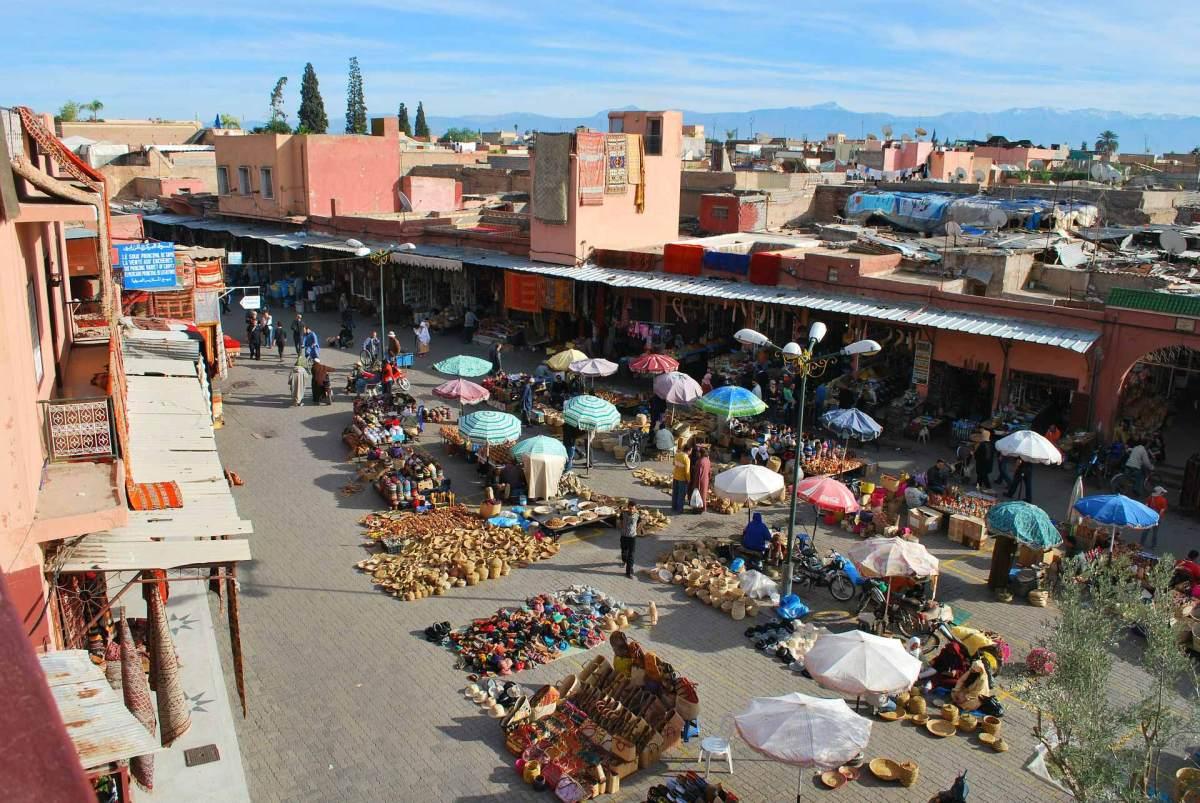 Souk, Marrakesch, Marokko