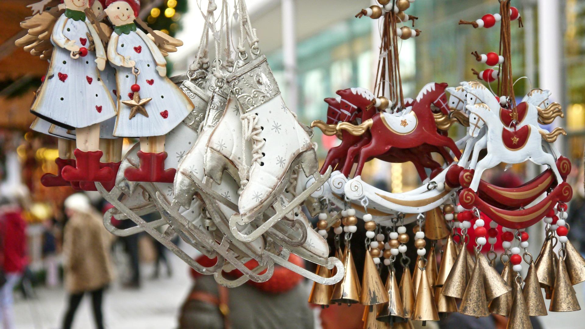 Weihnachtsmarkt Deko