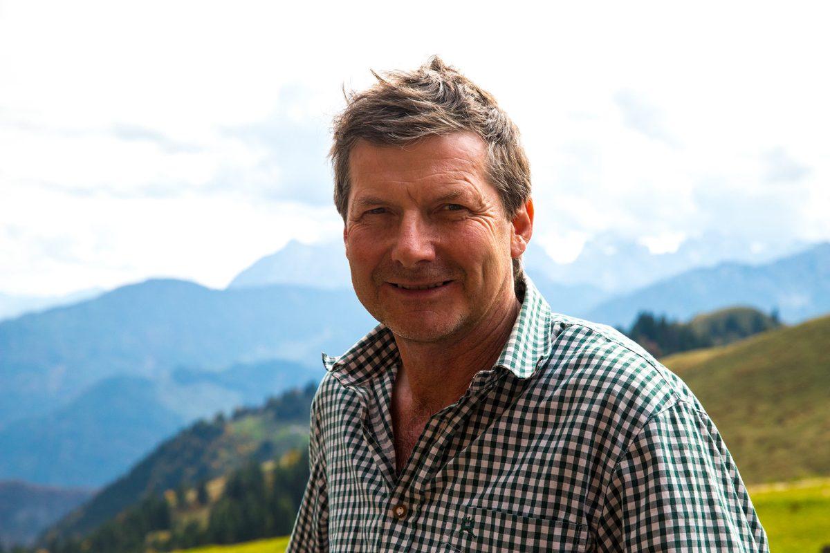 Toni von der Burgeralm im Kaiserwinkl Tirol