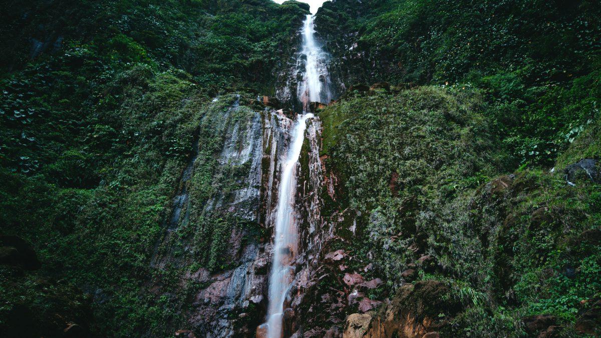 Guadeloupe Wasserfall