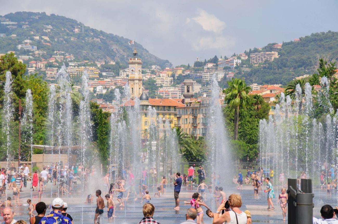 Nizza Wasserspiele