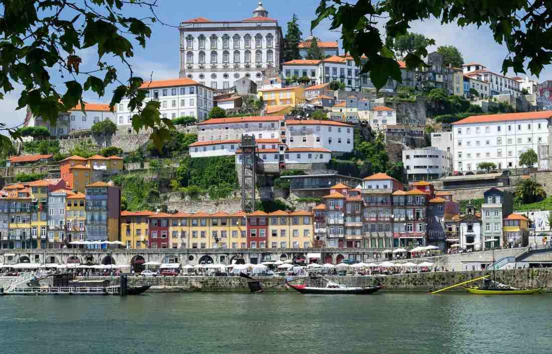 Stadtansicht von Porto