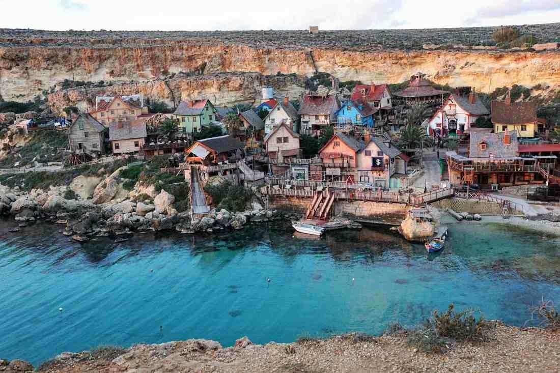 Maltesisches Küstendorf