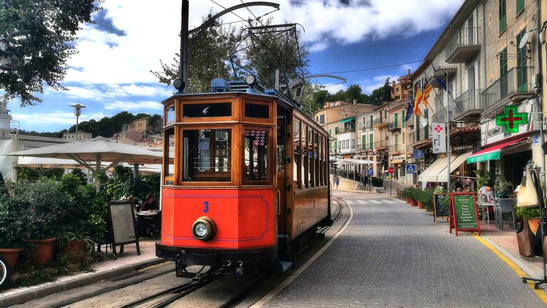 Tram auf Mallorca