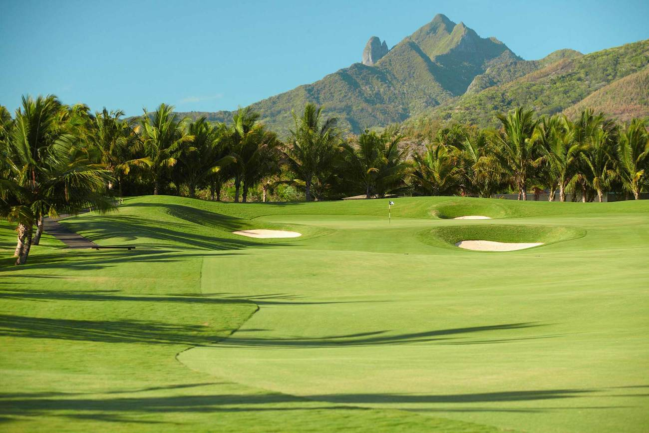 18-Loch Golfplatz Four Seasons Mauritius at Anahita