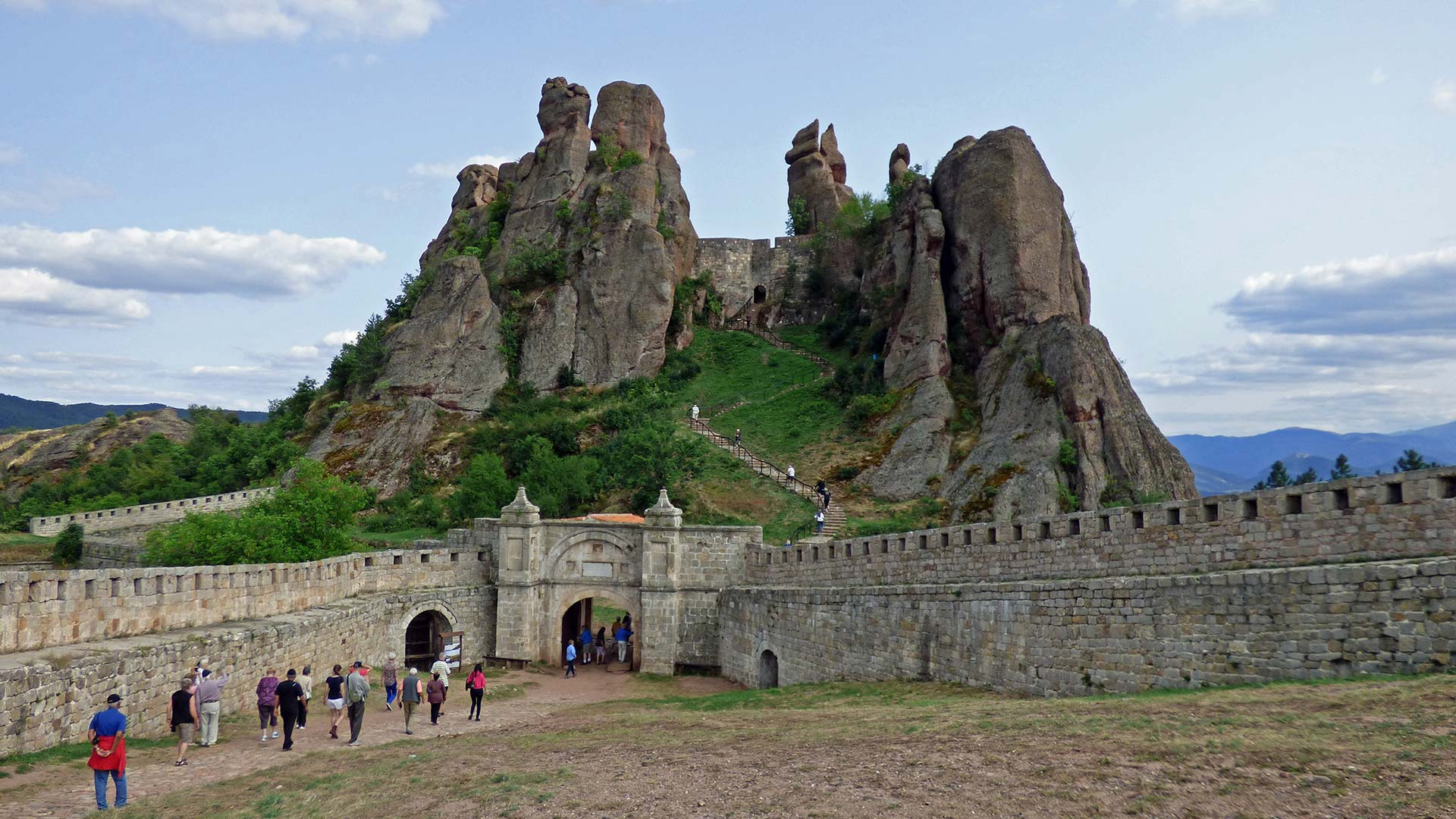Belogradchik in Bulgarien