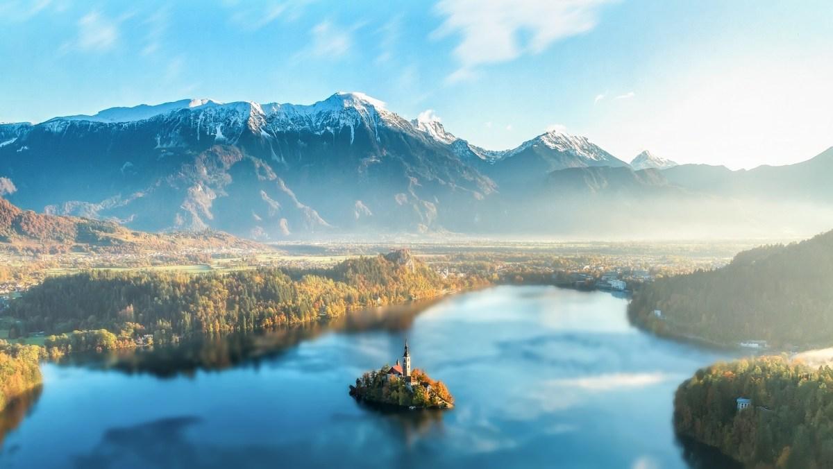 Slowenien - Bled Insel