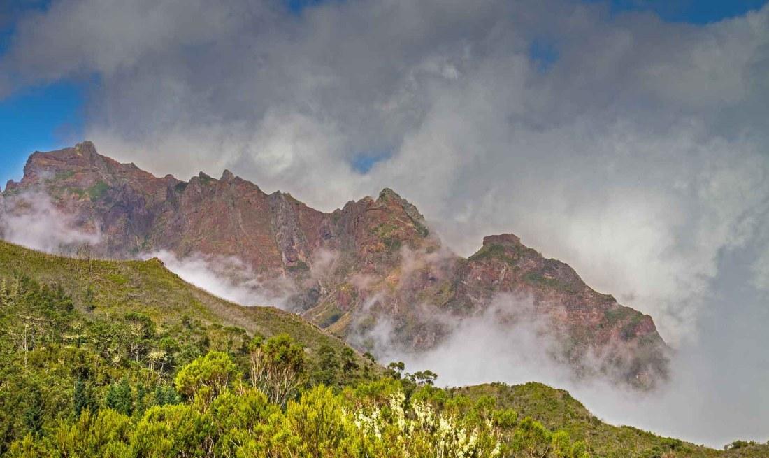 Wanderweg von Pico Ruivo
