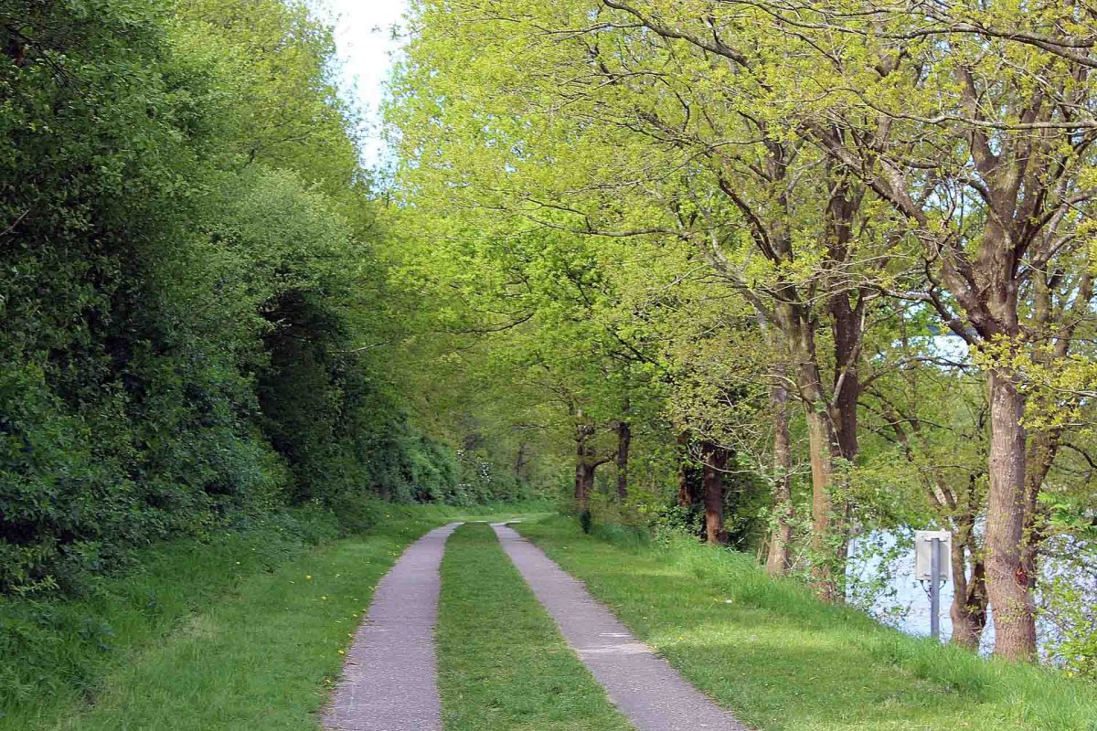Wanderweg am Nord-Ostsee-Kanal