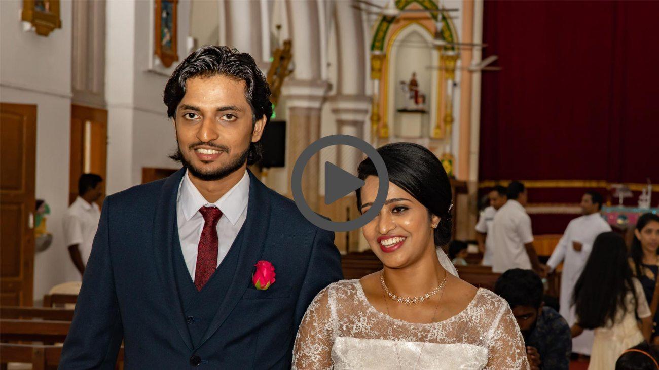 Jaisemon & Minnu Hochzeit