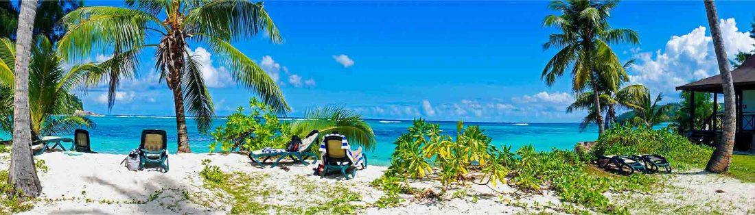 Seychellen, Strand