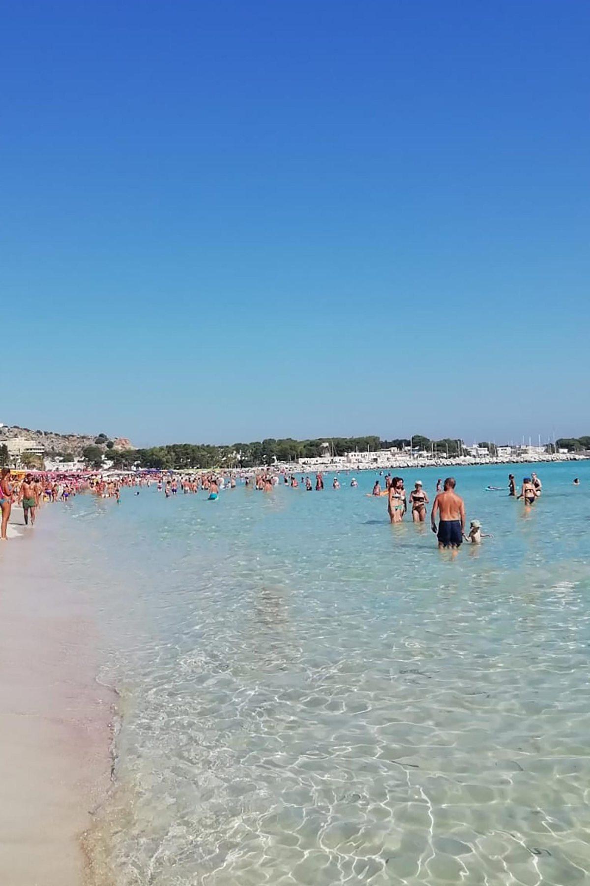 Strand von San Vito lo Capo, Sizilien