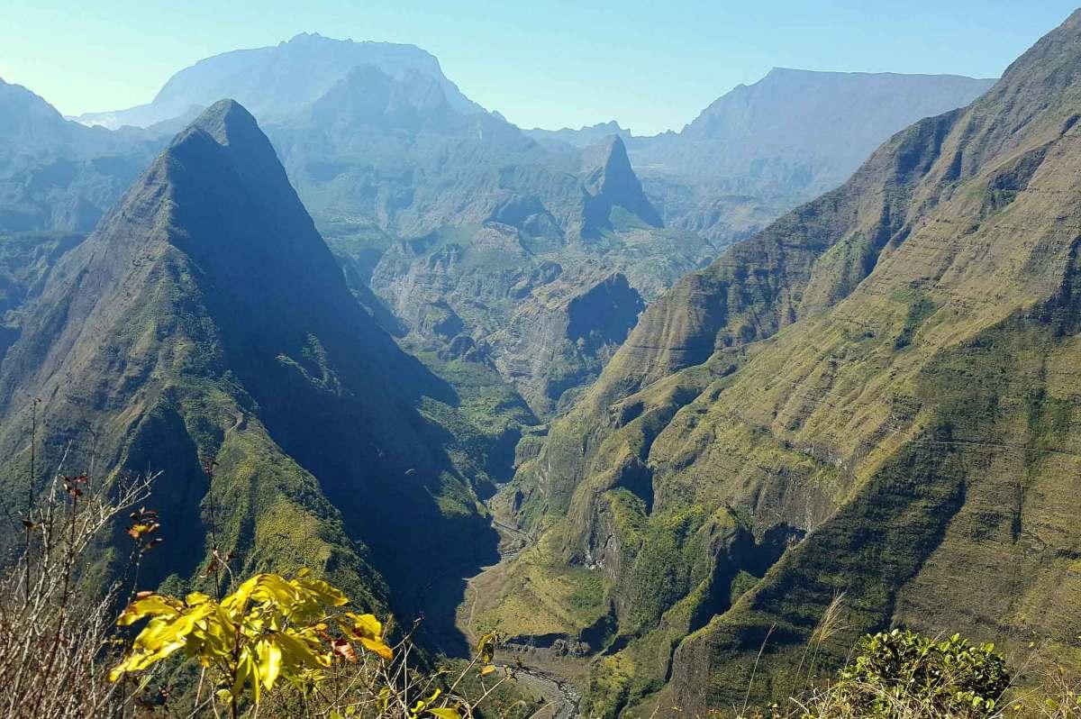 Der Berg Maido bietet grandiose Aussichten