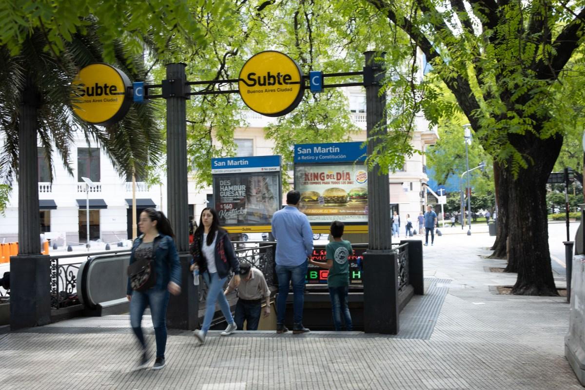 U-Bahn Station Buenos Aires