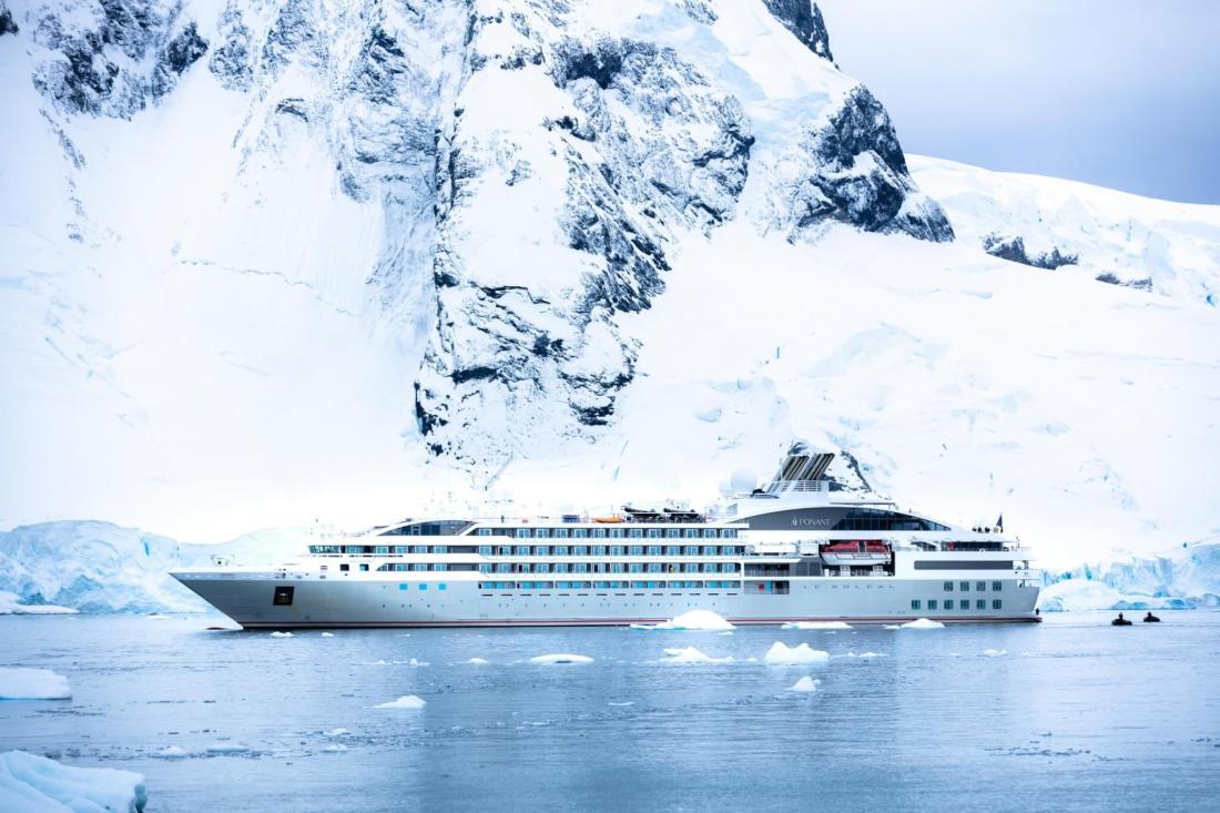 Le Soleal, Ponant, Antarktisroute