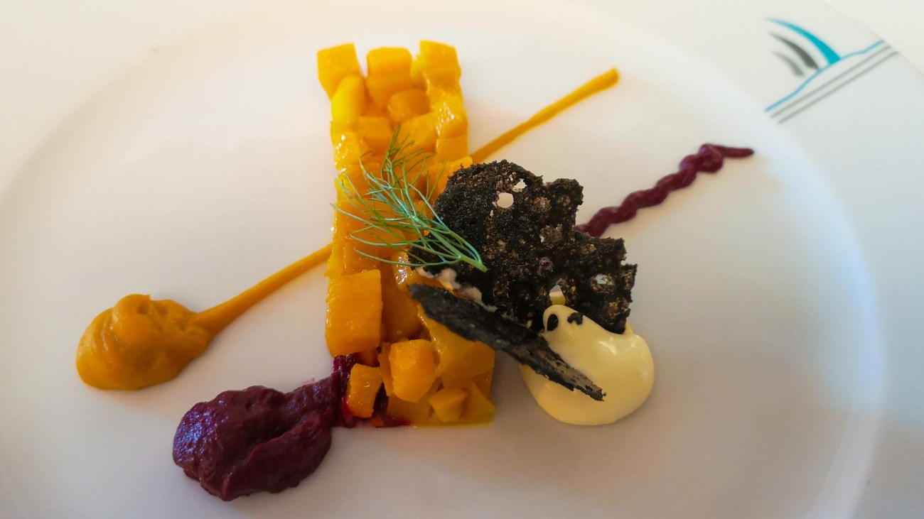 French Cuisine an Bord der Le Soleal, Ponant