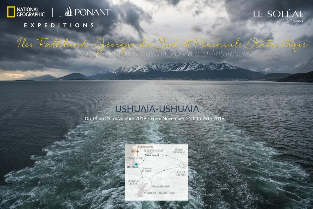 Ponant Cruise Ushuaia-Ushuaia