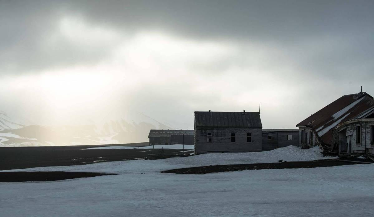 Verlassene Station auf Deception Island