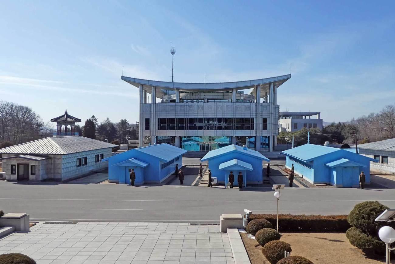 Demarkationslinie Nordkorea