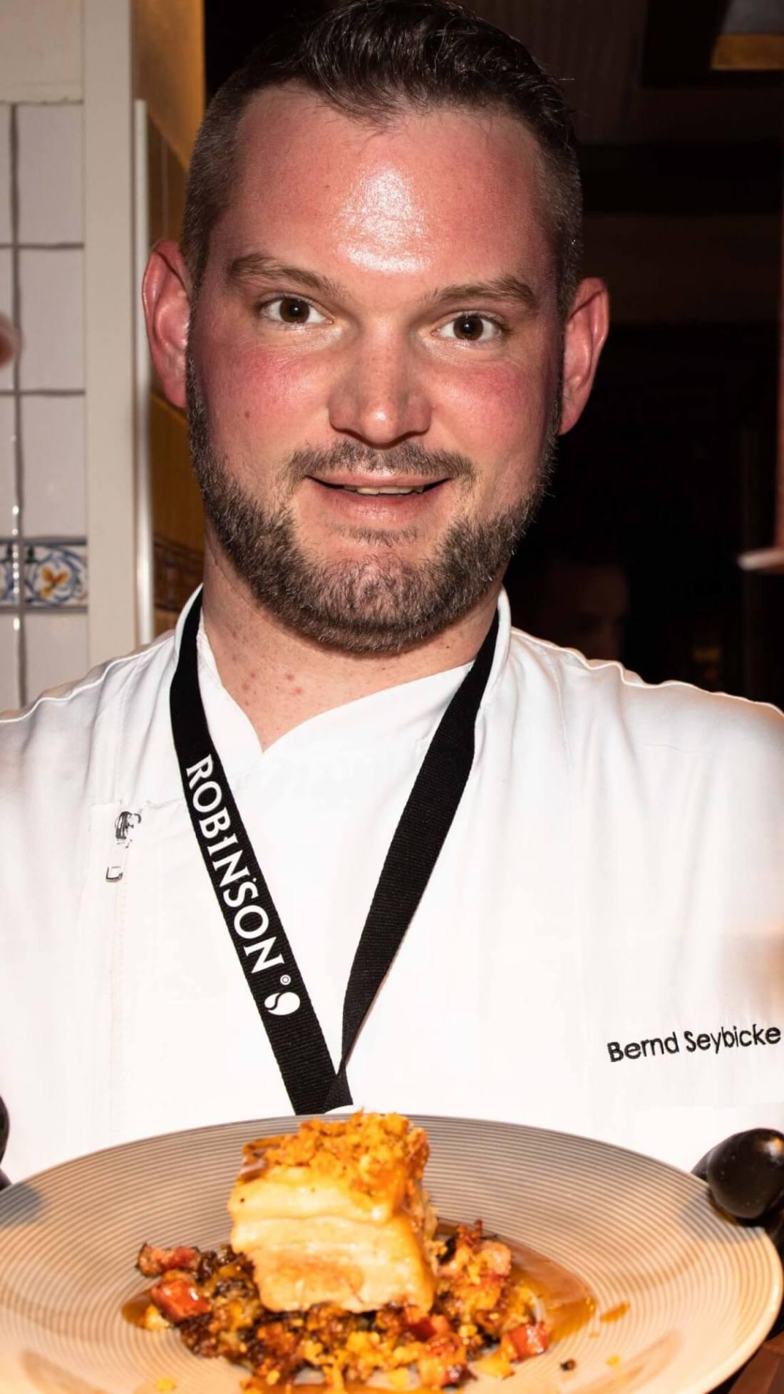 Chefkoch Bernd Seybicke im ROBINSON Club Arosa