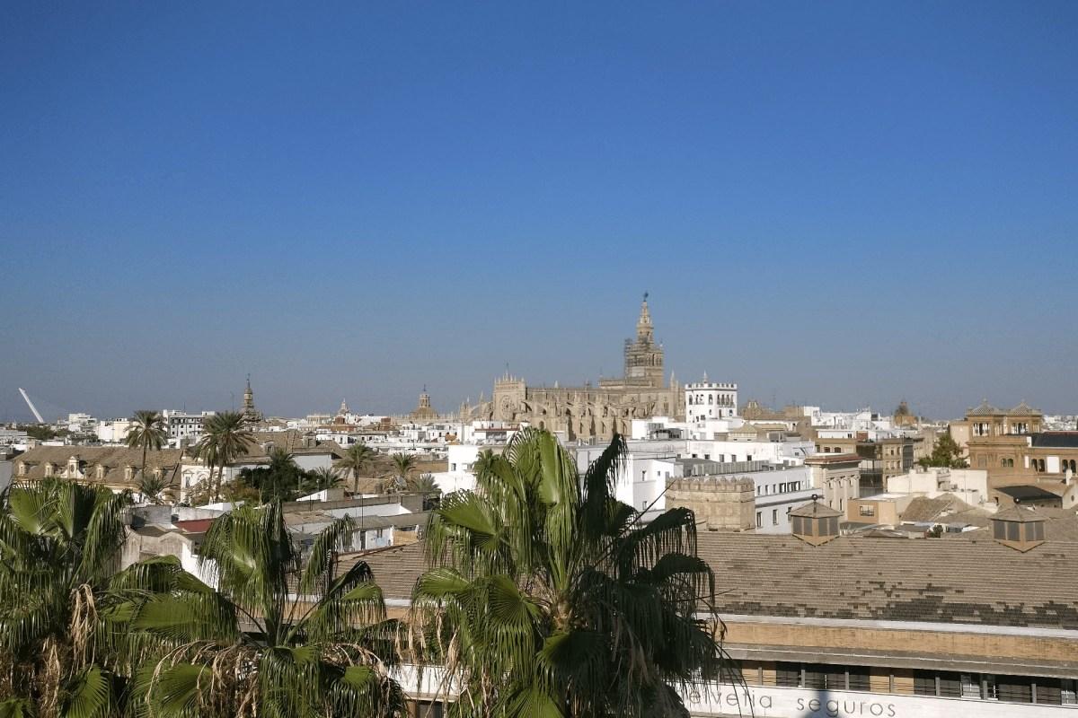 Blick vom Torro del Ore Richtung Stadtzentrum