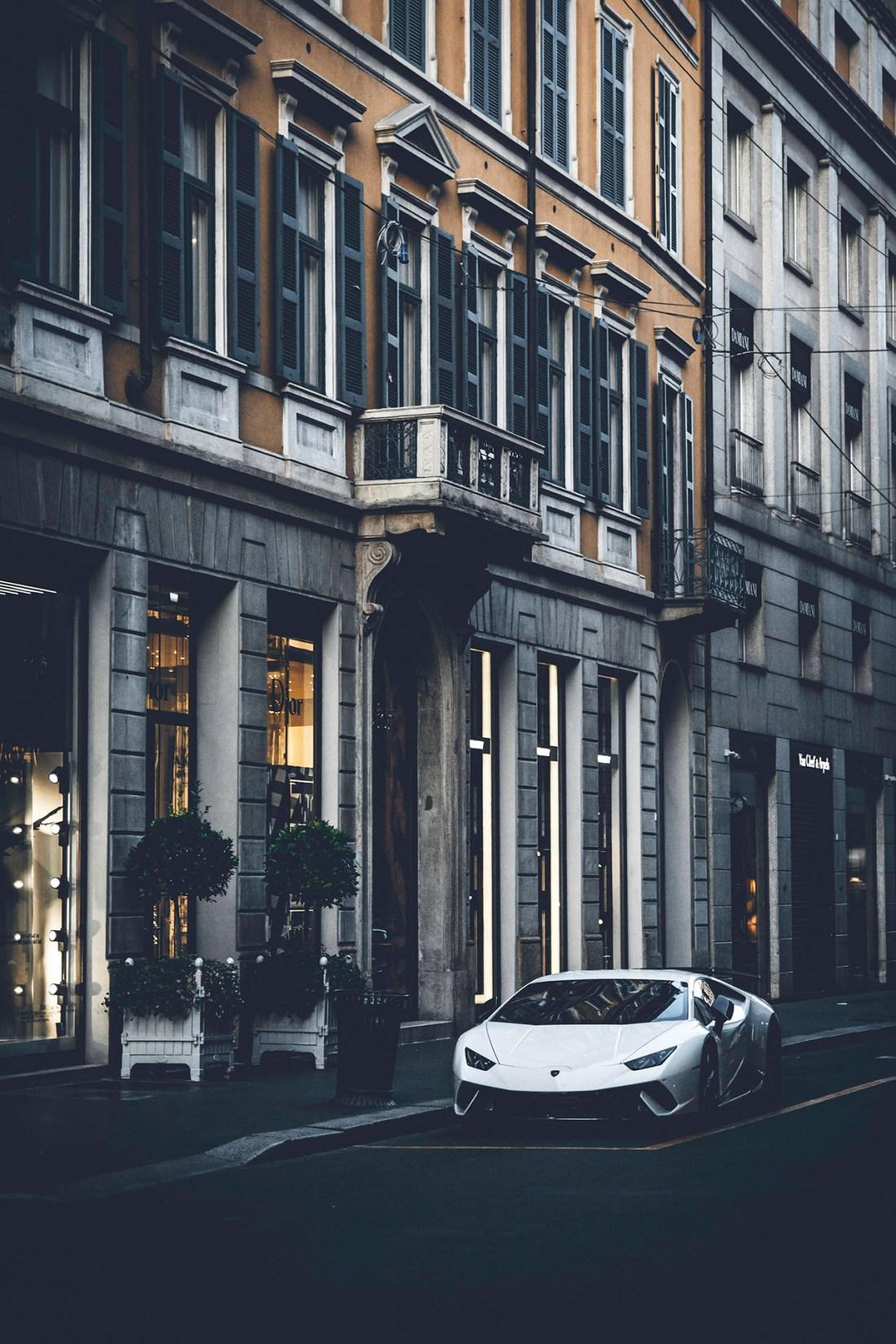 Lamborghini in Modena