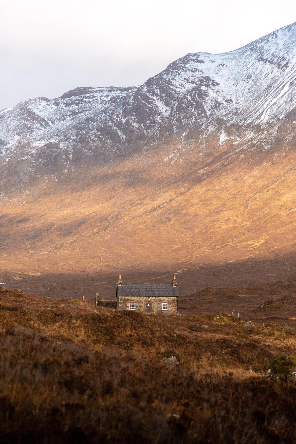 Bothy in den Highlands