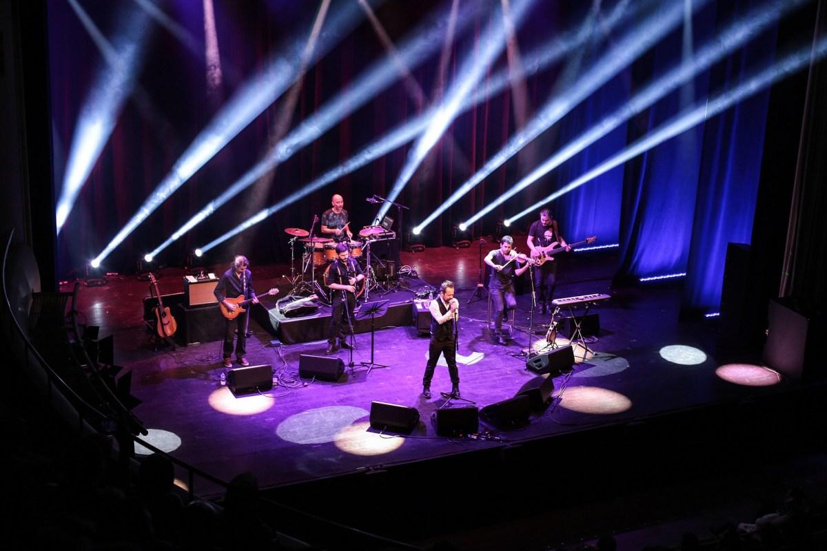 Band, Bühne, Konzert