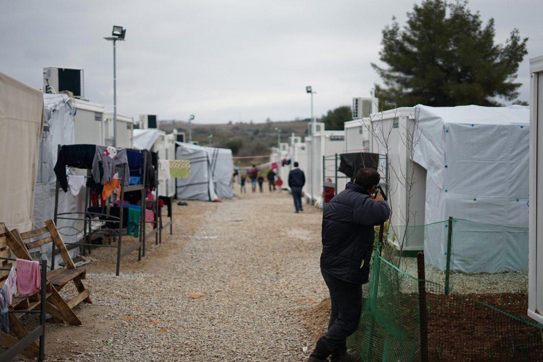 Flüchtlingscamp an der EU-Außengrenze