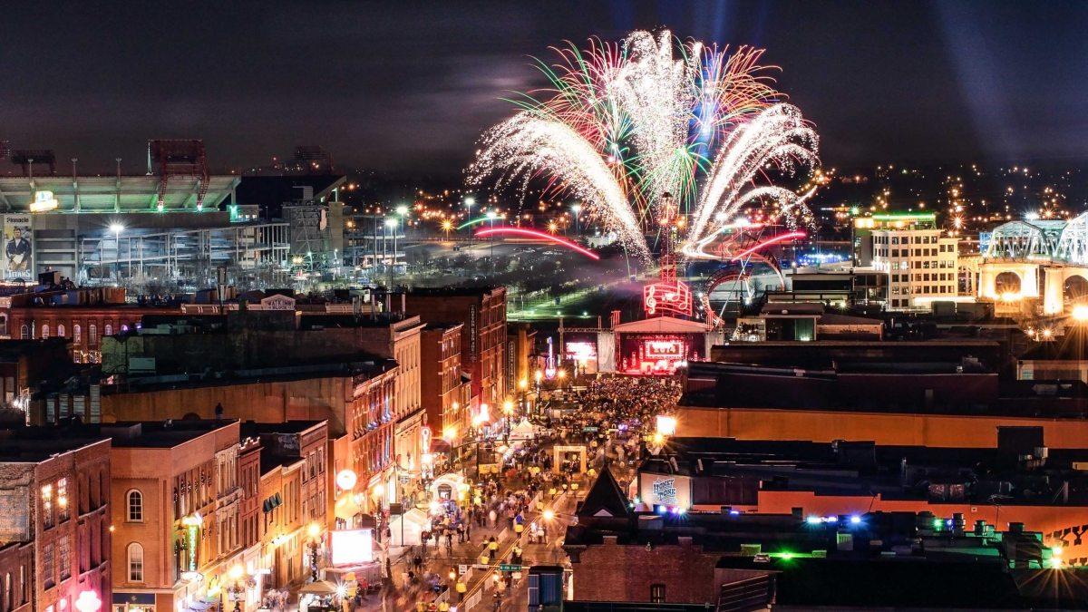Silvester in Nashville, USA