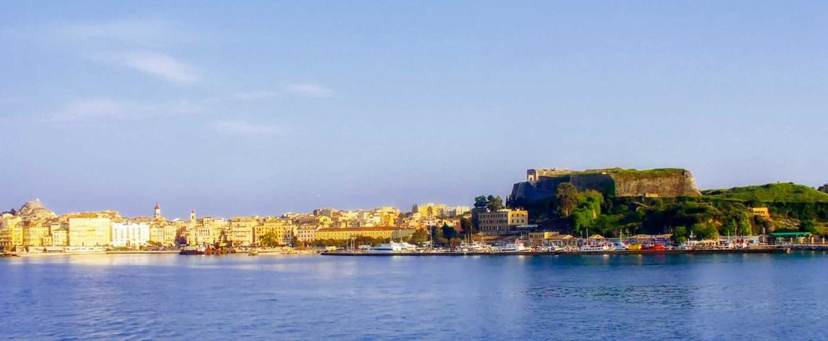 Kerkyra, Korfu Stadt