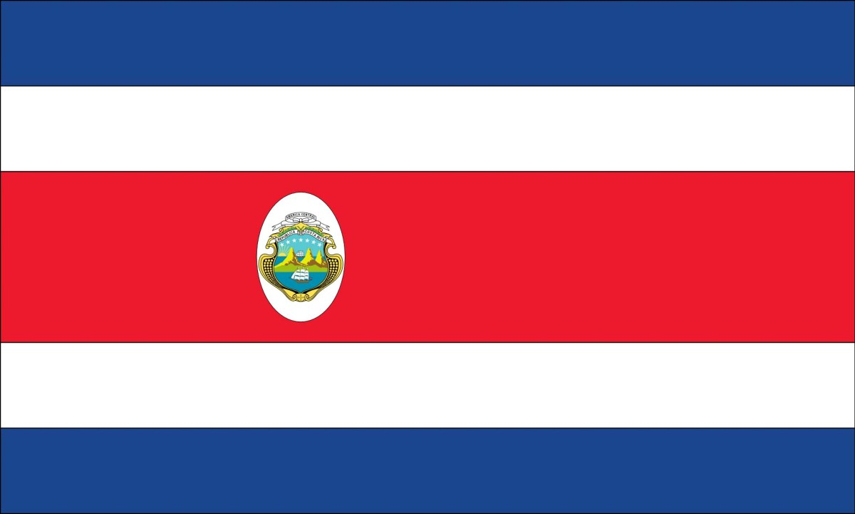 Flagge Costa Ricas