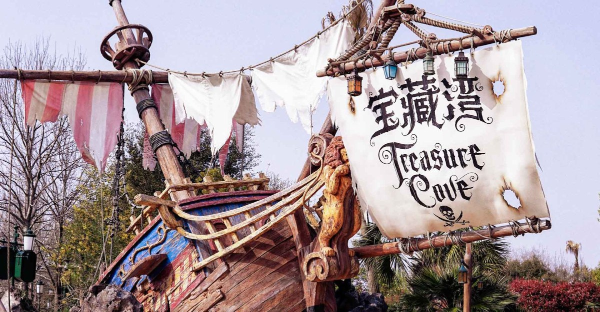 Schatzsuche, Piratenschiff