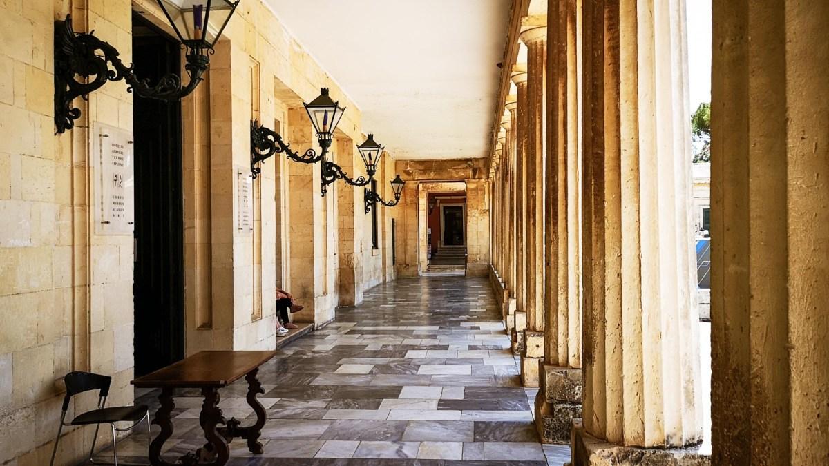 Palast Michael George, Kerkyra