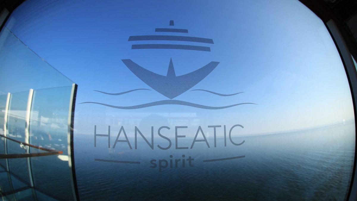 Hanseatic spirit Logo im Fenster