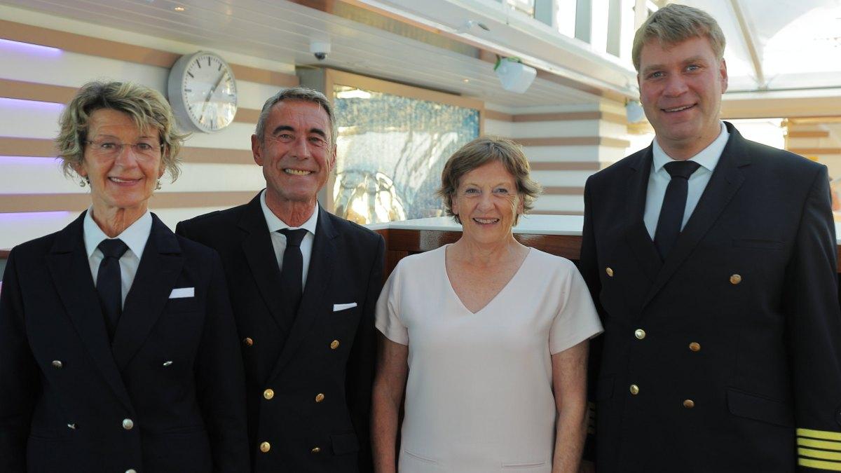 Hanseatic spirit, Sylt, Crew, Gast, Gabriele Reminder-Schray