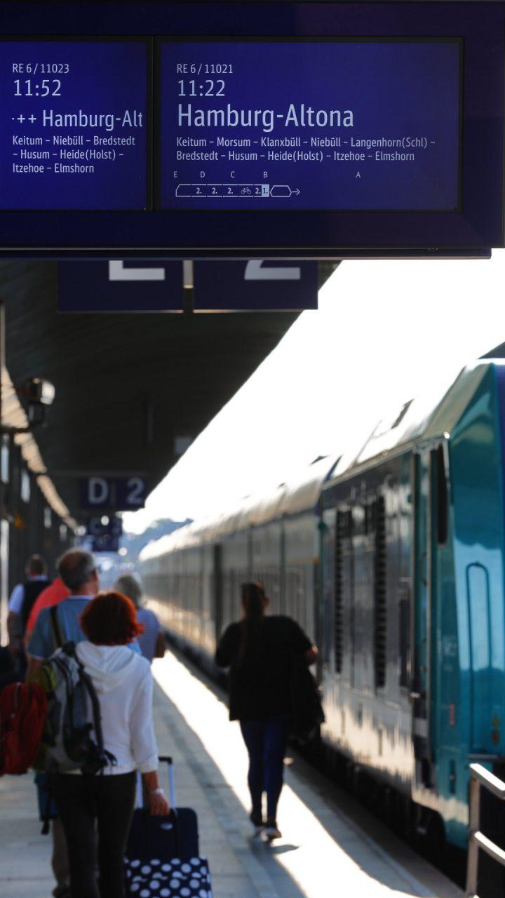 Westerland, Bahnhof, Bahnsteig