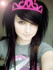 emo hairstyles girls