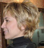 short hairstyles women over