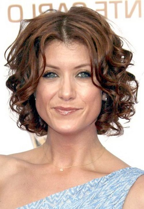 Short Curly Hairstyles For Heart Shaped Faces 3