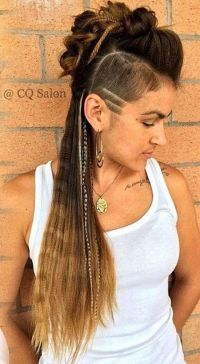 Side Cut Hairstyles With Braids - HairStyles