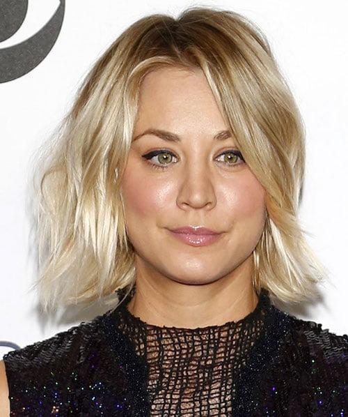 Kaley Cuoco Hairstyles Amp Haircuts Short Pixie Bangs