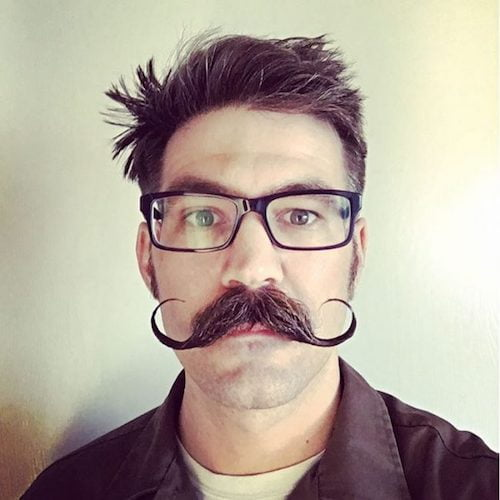 32 Cool Mustache Styles For A Unique Look In 2017