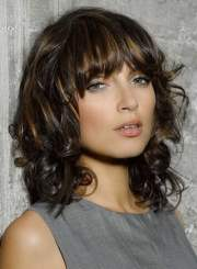 hairstyles with bangs and fringes
