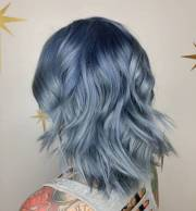 denim hair color ideas match